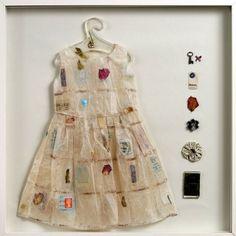 Vestido-Dress.  Artista Jennifer Collier  #Reciclaje #Arte