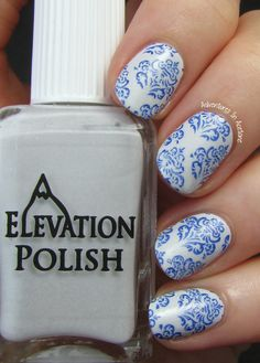 Adventures In Acetone: The Digit-al Dozen DOES The Terrific Twos, Day 4: China Pattern