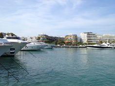 Marina Ibiza en Ibiza, Islas Baleares - #barcoibiza #rental #boats #sailing #holidays #travel #ibiza #formentera #event #planning #wedding