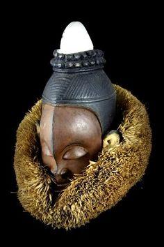 African Masks, African Art, Congo, Masks Art, Indigenous Art, African Culture, Tribal Art, Helmets, Sculpture Art