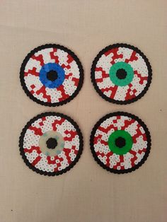 Hey, I found this really awesome Etsy listing at http://www.etsy.com/es/listing/160000219/creepy-bloodshot-eye-coasters-pack-of-4