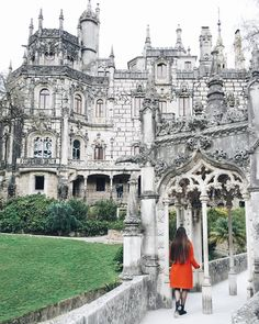"""""""Last weekend I spent a day in a place situated on Portugal's Atlantic coast, about 40 minutes ride from Lisbon by train. It's often described as…"""" Flamboyant, By Train, My Favorite Part, Lisbon, Barcelona Cathedral, Disneyland, Portugal, Beautiful Places, Coast"""