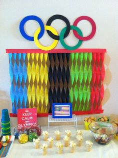 The much anticipated Summer Olympic Games are just around the corner! Throw an Olympic inspired party your kids will love! Beer Olympics Party, Senior Olympics, Office Olympics, Summer Olympics, Olympic Idea, Olympic Games For Kids, Olympic Crafts, Special Olympics, Thinking Day