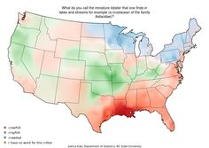 Tiny crustaceans are tearing this country apart.  - Joshua Katz, Dept. of Statistics, NC State University http://www.businessinsider.com/22-maps-that-show-the-deepest-linguistic-conflicts-in-america-2013-6#tiny-lobsters-are-tearing-this-country-apart-12