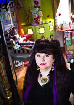 Wendy Costa's art, home, and studio.