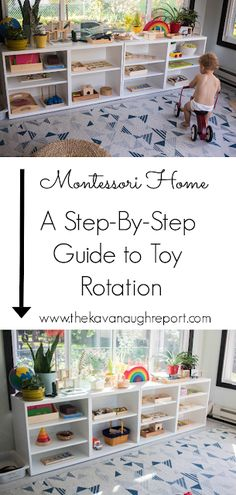 A step-by-step look at how we rotate toys in our Montessori home. A step-by-step look at how we rotate toys in our Montessori home. The post A step-by-step look at how we rotate toys in our Montessori home. appeared first on Pink Unicorn. Playroom Montessori, Montessori Education, Montessori Activities, Infant Activities, Baby Education, Toddler Play, Baby Play, Baby Toys, Toddler Learning Toys