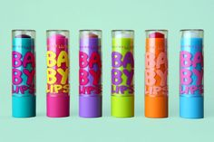 Maybelline Baby Lips. love the pink one!