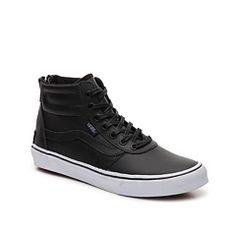 Vans Milton Hi Leather High-Top Sneaker - Womens