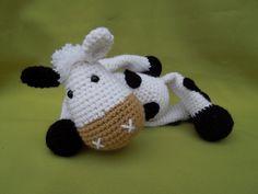 My Friend Cow Matylda - Amigurumi Crochet Pattern / PDF e-Book / Stuffed Animal Tutorial by DioneDesign on Etsy https://www.etsy.com/listing/123961207/my-friend-cow-matylda-amigurumi-crochet