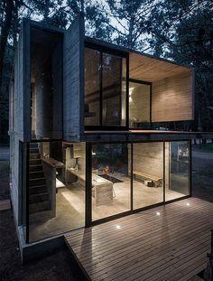 """aros: """"Concrete Summer House """""""