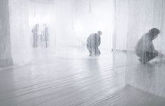 Japanese designer Nosigner created the space for an exhibition called Techtile at the University of Tokyo last November.