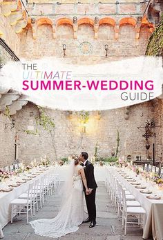 Summer wedding season means you need to start getting all of your plans together! | Brides.com