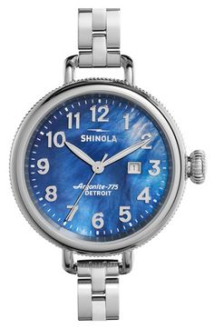 Shinola 'The Birdy' Bracelet Watch, 34mm available at #Nordstrom