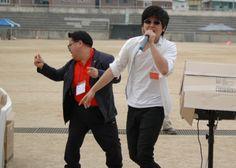 부전자전...아들의 노래에 백댄서를 하는 아빠...오현의 날 노래자랑 1등...20130526