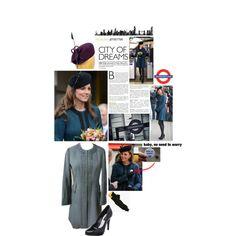 Duchess of Cambridge in By Malene Birger Coat