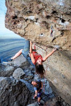Climbing maneuvers - Nicky Dyal