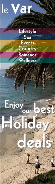 Great food & wine, wonderful people, fun leisure activities, stunning sights and unbeatable relaxation… it's all here in the Var. Welcome in!
