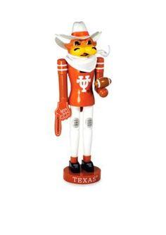 Santas Workshop  14-in. Texas Longhorns Nutcracker - Online Only