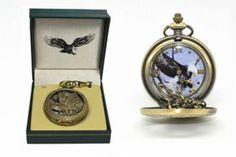 Bald Eagle Pocket Watch #Unbranded