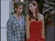 I love Buffy, but let's get real: she had some pretty funky ...