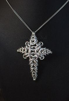 Chainmaille Conical Cross - Mels11