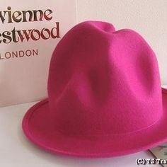 Vivienne Westwood - ◆VivienneWestwood◆ヴィヴィアンウエストウッド★FeltMountainhat限定☆フエルト・マウンテンハット(ピンク)【送料無料】【あす楽対応】【YDKG-k】【W3】