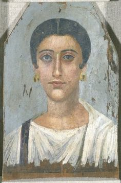 Portrait of a Noblewoman:Medium: Encaustic on wood Place Made: Egypt Dates: ca. 150 C.E. Period: Roman Period