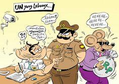 Mice Cartoon, Rakyat Merdeka: UN Yang Lebay!