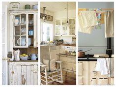 Decora tu cocina con un toque romántico y vintage - http://www.decoora.com/decora-tu-cocina-con-un-toque-romantico-y-vintage.html