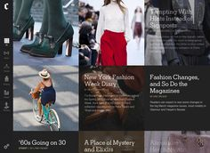 The New York Times has created a new app for apple products, called the Fashion app. It's a new way for consumers to experience style and analyze trends. You also get updates on trends, photos from around the world, street fashion and shopping tutorials. Fashion reveiws from renown designers are included as well. Taylar H.