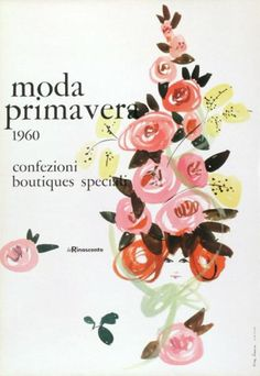 By Lora Lamm (born 1928), 1960, Moda primavera, Confezioni, Boutiques speciali, La Rinascente. (I)