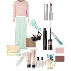 """Casual Chic"" by gloria-f-green on Polyvore.   Great summer look from Mary Kay! As your Mary Kay consultant, I can help you with all of your skin care and cosmetic needs.  www.marykay.com/larimcnerney    www.facebook.com/larimcnerney"