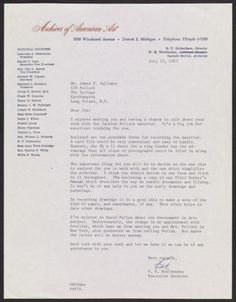 Citation: W.E. Woolfenden letter to James Valliere, 1963 July 19 . Jackson Pollock and Lee Krasner papers, Archives of American Art, Smithsonian Institution.