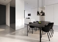 Single-family house interior design, Warsaw