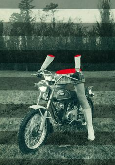 """Ghost rider"" © Flore Kunst."