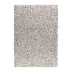 ALHEDE Teppich Langflor IKEA Der dicke, dichte Flor ist kuschelig an den Füßen und wirkt gleichzeitig geräuschdämpfend.
