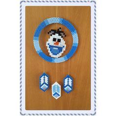 Frozen  mobile hama beads by gittejulie