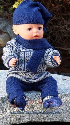 Doll clothing knitting patterns