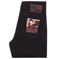 Naked & Famous Denim introduces the popular Black X Red Stretch Selvedge fabric for women!