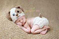 Crochet Newborn Animal Hat Patterns