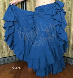 Cobalt 25 Yard Petticoat Skirt  You can order yours here:  http://www.paintedladyemporium.com/Shop-Here.html