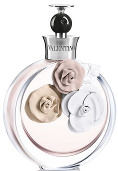 'Valentina' by Valentino- it's one of those fragrances that is memorable and a mix of sweet and musky. Lasts for ages, especially if you spray it on clothes.