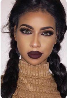 South Africa Makeup Tutorials Makeup Ideas For Black Girls Make Up Inspirations Makeup Trends Beauty Makeup Ideas To Look Sexy Cat Eye Makeup, Simple Eye Makeup, Eye Makeup Tips, Makeup Hacks, Smokey Eye Makeup, Cute Makeup, Makeup Goals, Gorgeous Makeup, Makeup Inspo