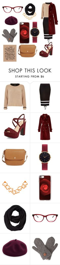 """""""Cute look for fall"""" by marinarey11 ❤ liked on Polyvore featuring River Island, Puma, New Look, A.P.C., BP., Abbott Lyon, Casetify, John Lewis, Coach and Kathy Jeanne"""