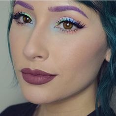 @Ahitsrosa created this beautiful fairy-like look using her #sugarpill x #edwardscissorhands palette available now at www.sugarpill.net! Check out her page for more product details. by sugarpill