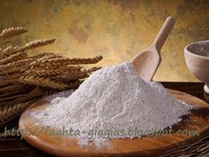 Whole wheat flour on wooden board. Setting with whole wheat flour , Whole Wheat Flour, Medicinal Herbs, Drying Herbs, Herbal Medicine, Web Design, Chinese, Bread, Graphics, Foods