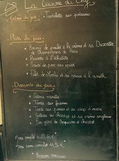 Formule du midi du restaurant le Refuge à Cormontreuil. Cuisine 100% Maison