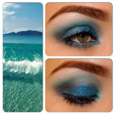 "makeup series ""the 4 elements"":WATER"