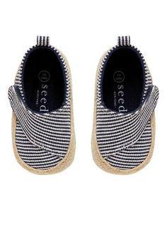 Velcro Tab Soft Shoe | Seed Heritage