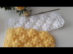 Learn to crochet amazing blanket. This beautiful stitch provides a fabulous look to any project you chooce especially to blanket, read more. Crochet Puff Flower, Crochet Flower Patterns, Crochet Flowers, Knitting Patterns, Crochet Video, Perfect Model, Crochet Braids, Crochet Stitches, Crochet Projects